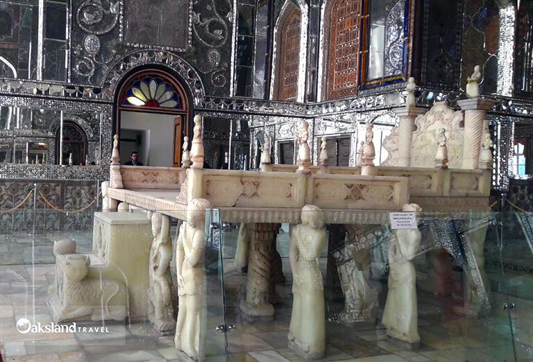 Marble Throne in Golestan Palace, Tehran