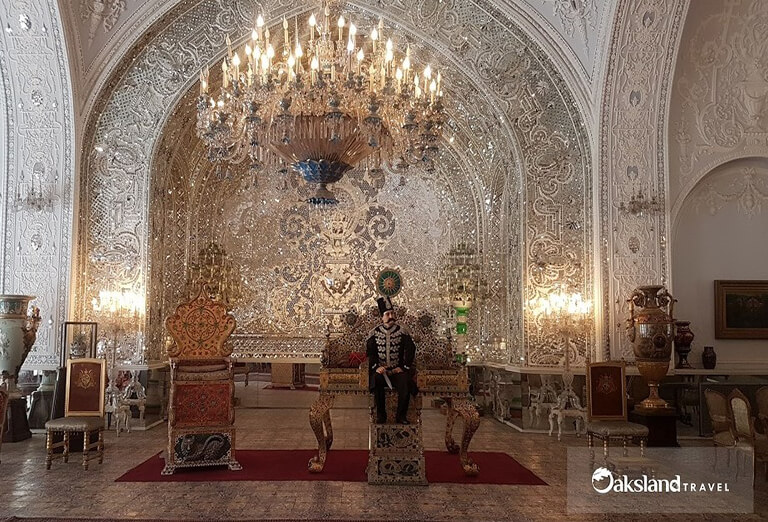 Salam Hall in Golestan Palace, Tehran