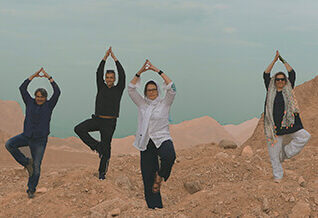 10 Days yoga into Classic Iran Tour