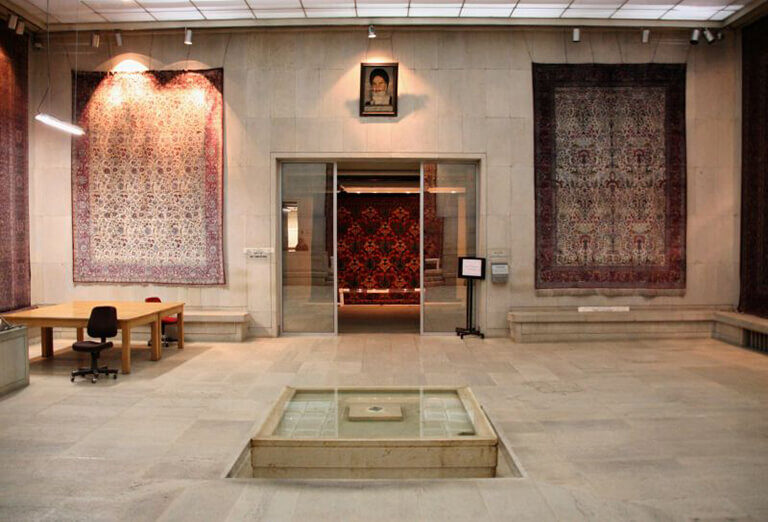 Carpet Museum in Tehran, Iran