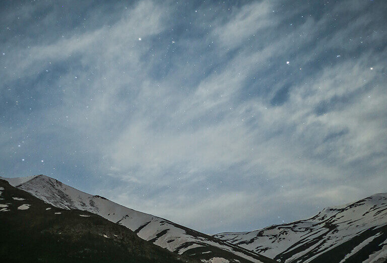 Night Sky of Kazaj Village, Ardabil