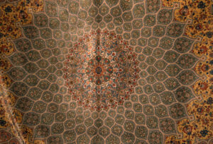 Persian Silk carpet, Isfahan