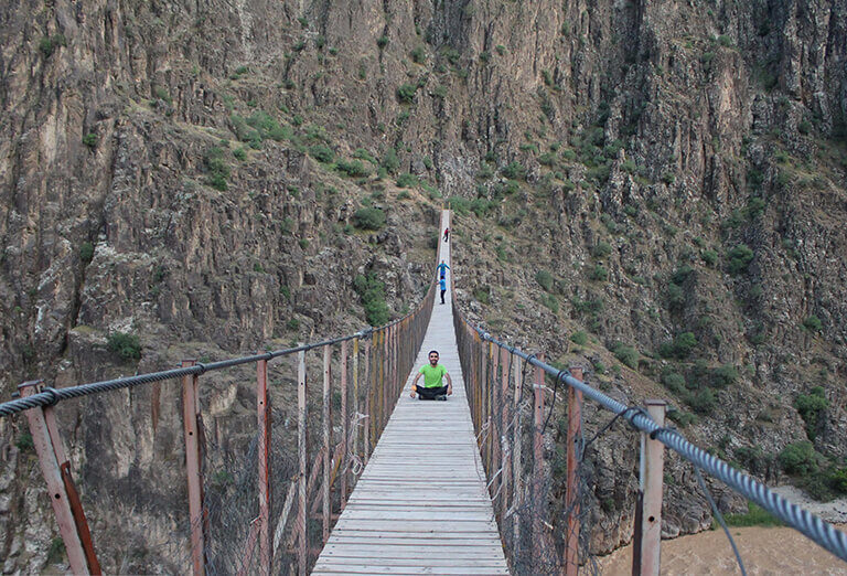 Pir Taghi Suspended Bridge