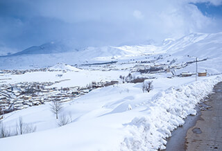 chelgerd village, 8 Days Ski touring in Iran – Zagros Mountains