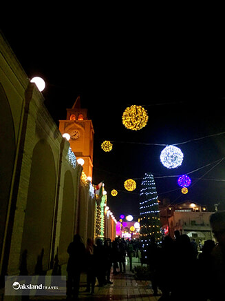 Celebrating Christmas in Vank Cathedral, Isfahan