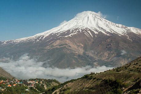 Damavand, one of the Wonderful Iranian Mountains