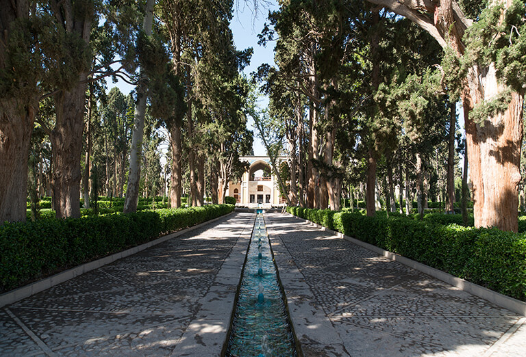 Fin Persian Garden, Kashan in Cycling Tour in Iran - Classic Route