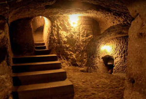 Ouyi Underground City in Cycling Tour in Iran