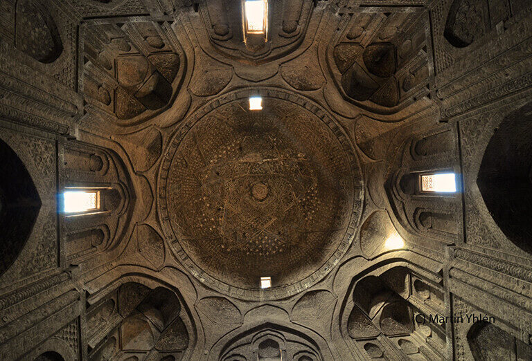 Brick Dome of Jame Mosque of Isfahan