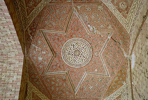 Ceiling in Soltaniyeh Dome