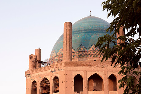 Soltaniyeh Dome, largest Brick Dome in Iran f