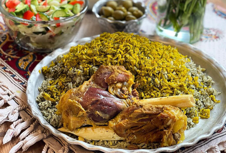 Baghali Polo, a Top Iranian Foods to Try While Visiting Iran