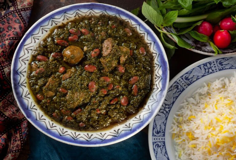 Ghorme Sabzi - a Top Iranian Foods to Try While Visiting Iran