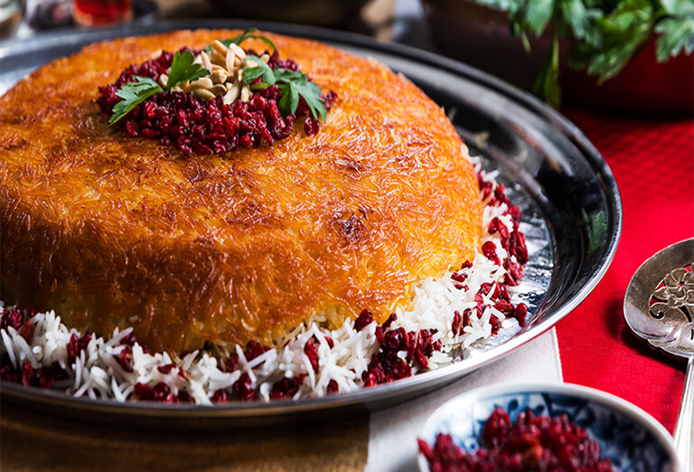 Tahchin - An amazing food to try while visiting Iran
