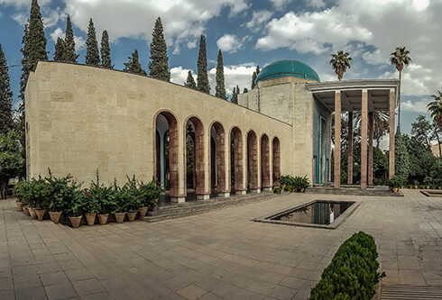 Tomb of Sa'di in Shiraz