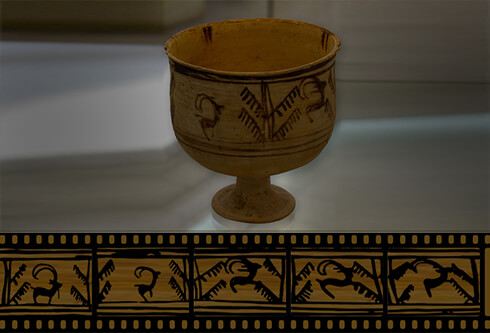 Animation on a Vase in Shahre Sukhte