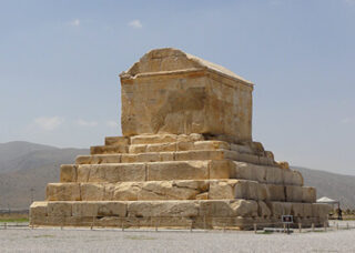 Tomb of Cyrus the Great in Pasargadae