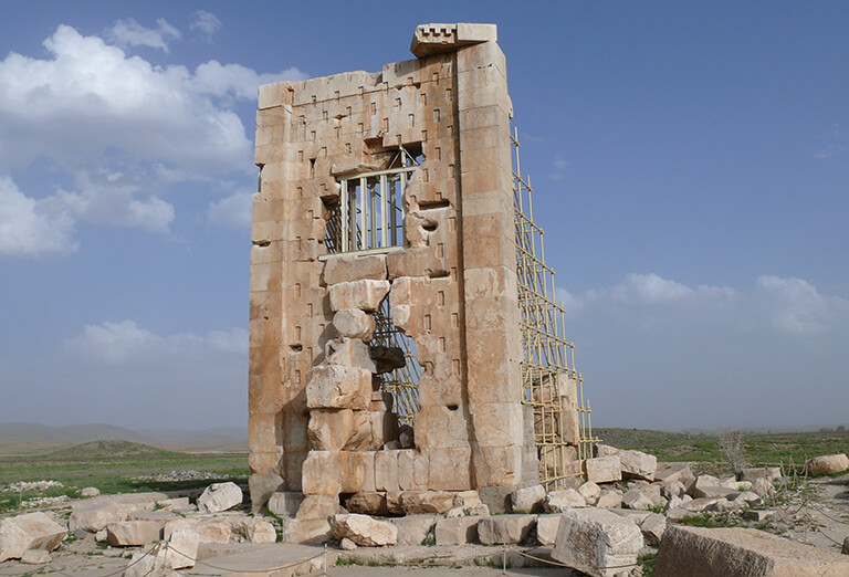 Prison of Salomon or Tomb of Cambyses in Pasargadae