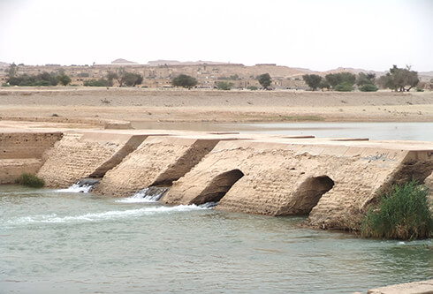 The Band of Mizan (Mizan Dam) on Gargar River
