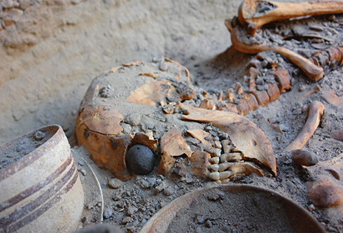 oldest artificial eyes that was founded in Shahre Sukhte