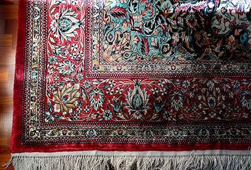 persian carpet, An Iranian souvenir