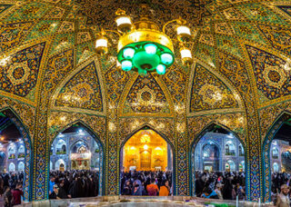 Imam Reza Holy Shrine in Mashhad one of the top religious destinations in Iran