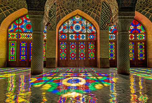 Nasir al-Mulk Mosque in Shiraz