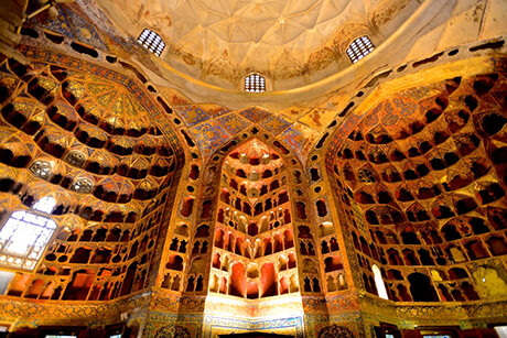 Interior of Sheikh Safi al-din ardabili shrine