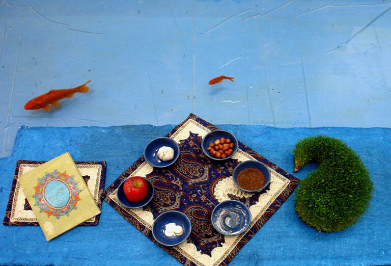 7 Sin table for Nowruz (inscribed in UNESCO World heritage as an intangible cultural heritage)