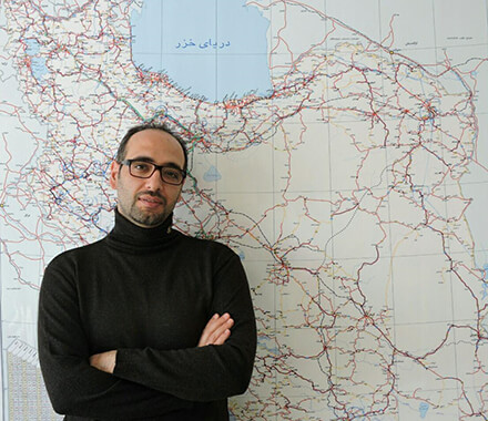 Mahmoud Hasanpour, CEO of Oaksland Travel and To Iran Tour