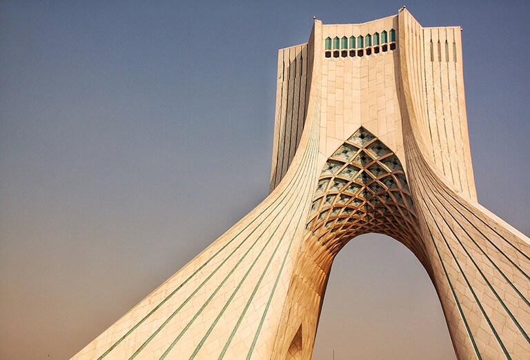 Azadi Tower, Tehran - one of the top places to take pictures in Iran