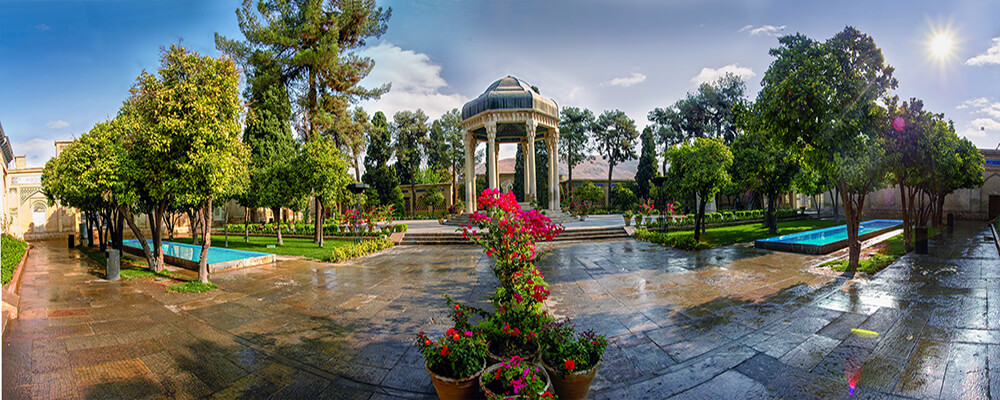 Hafeziyeh (Tomb of Hafez), Shiraz - one of the top places to take pictures in Iran