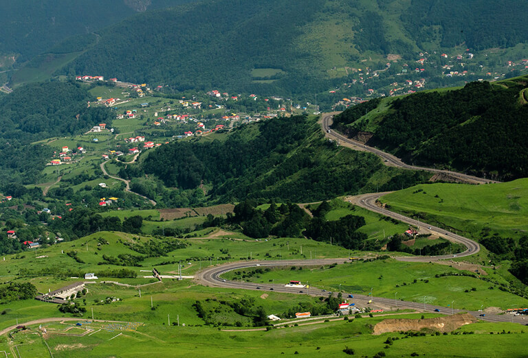 Heyran Pass in Ardabil