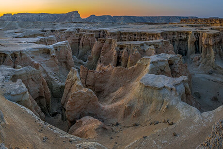 Stars Valley in Qeshm Iand - mysterious places in Iran