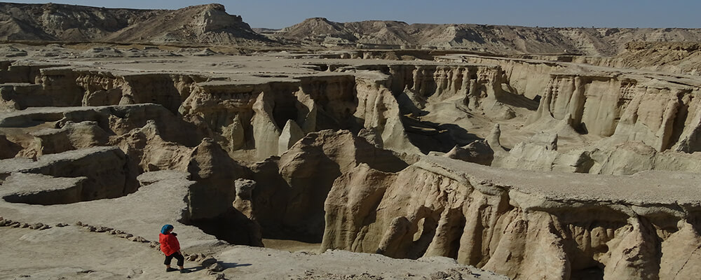 Stars Valley or passage of ghosts in Qeshm Island, one of the scary and mysterious places in Iran