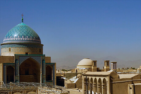 12 tourist attractions of Yazd
