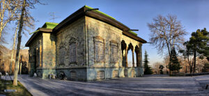 Green Palace in Sa'd Abad Complex, one of the royal palace of Tehran