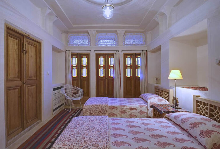 traditional house and hotel in Kashan